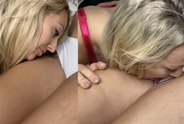 Mariah Leonne Onlyfans Kissing Lacie All Over My Body Video