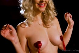 Meg Turney Onlyfans Red Pasties Video