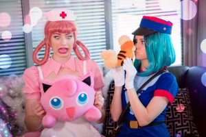 Nichameleon & Tabootie Nurse Joy Officer Jenny Cosplay Photos