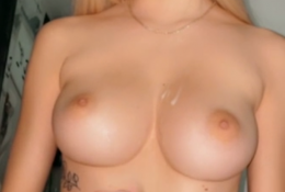 Chloe Spencer (@ch111oe) Nude Cum On The Boobs Onlyfans Leaked